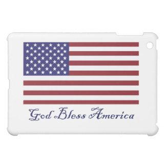 God Bless America Flag Cover For The iPad Mini