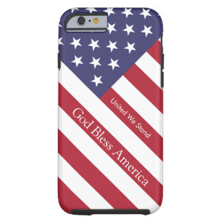 God Bless America Flag Personalized iPhone 6 case