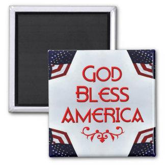 God bless America Fridge Magnet