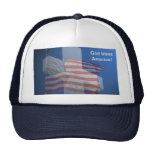 God Bless America!  Gifts and Clothes Trucker Hat