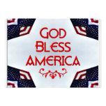 God bless America Invites