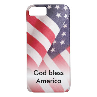 God Bless America iPhone 8/7 Case