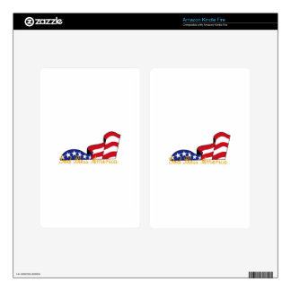 God Bless America Kindle Fire Decals