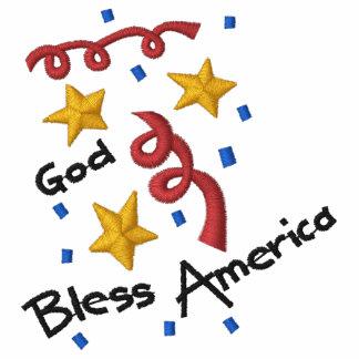 GOD BLESS AMERICA LADY'S SHIRT