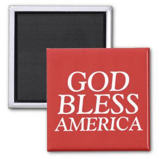 God Bless America Magnet