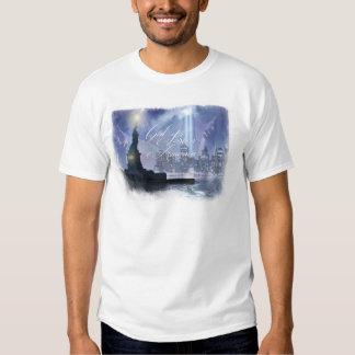 """""""God Bless America"""" men's T-shirt 911"""