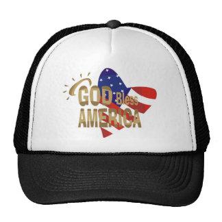God Bless America! Mesh Hat