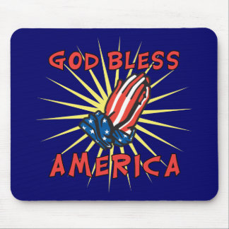 God Bless America Mouse Mats