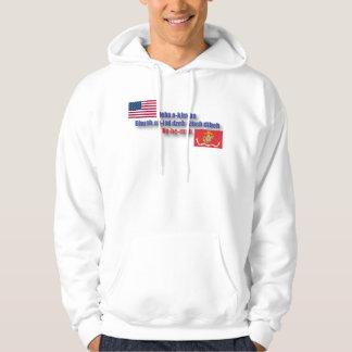 God Bless America : Navajo Code Pullover