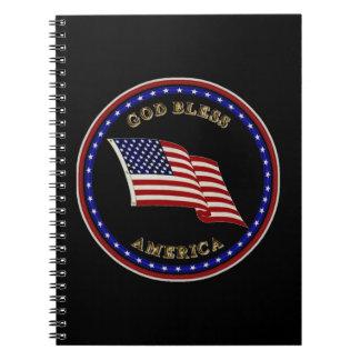 God Bless America Notebooks