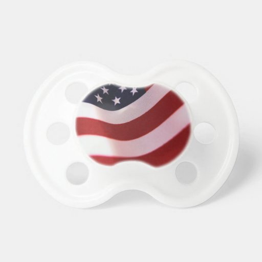 God bless America Baby Pacifiers
