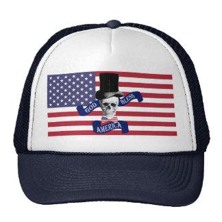 God bless America patriotic Trucker Hat