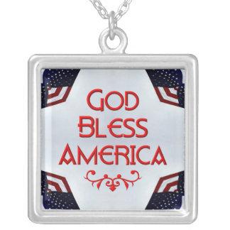 God bless America Pendants