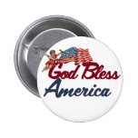 God bless America Pins