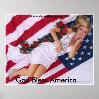 God Bless America (POSTER) Poster