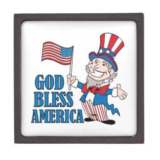 God Bless America Premium Gift Box