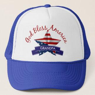 God Bless America Truckers Hat