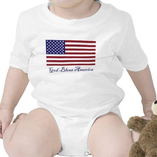 God Bless America Bodysuit