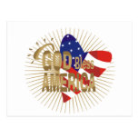 God Bless America Tshirts and Gifts Postcard