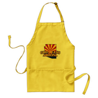 God Bless Arizona Adult Apron