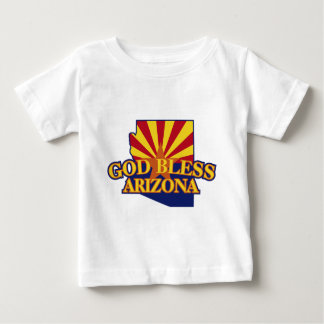 God Bless Arizona Baby T-Shirt