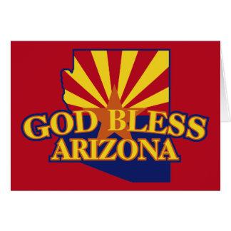 God Bless Arizona Card