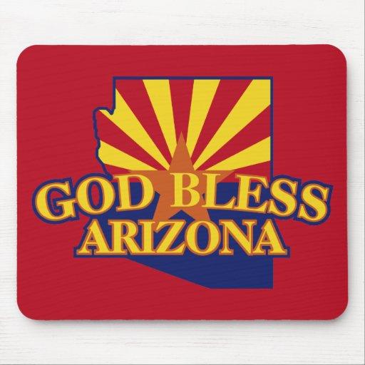 God Bless Arizona Mouse Pad