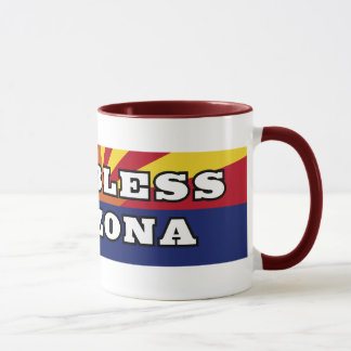 God Bless Arizona Mug
