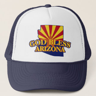 God Bless Arizona Trucker Hat