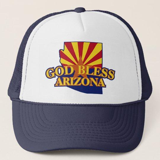 God Bless Arizona Trucker Hat
