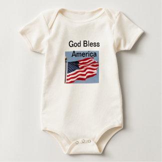 god bless baby bodysuit