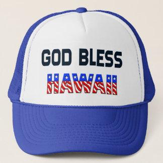 God Bless Hawaii Trucker Hat