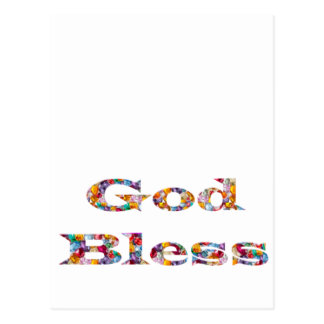 GOD Bless -  Ideal GIFT for all occasions Postcard