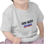 God Bless Iowa T Shirt