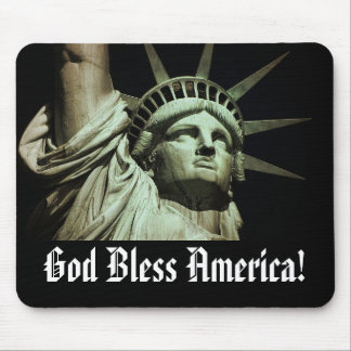 God Bless Liberty Mouse Pad