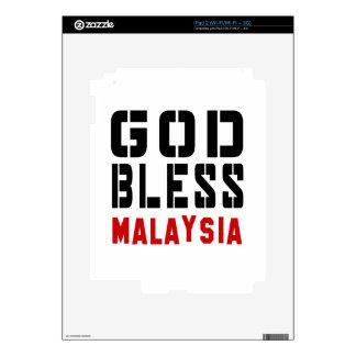 God Bless Malaysia Skin For iPad 2