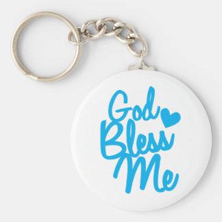 god bless me! keychain