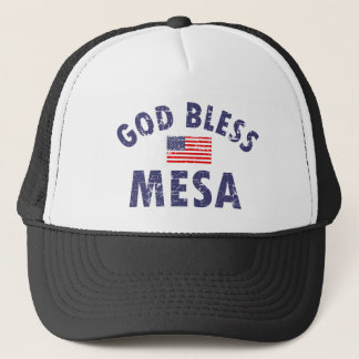 God bless MESA Trucker Hat