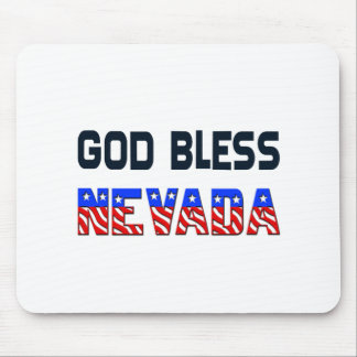 God Bless Nevada Mouse Pad