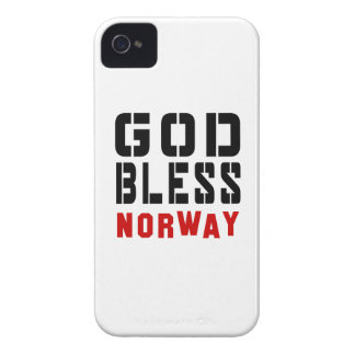 God Bless Norway iPhone 4 Cover