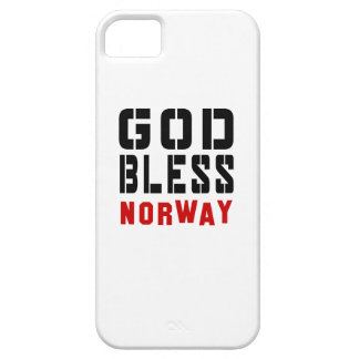 God Bless Norway iPhone 5 Covers