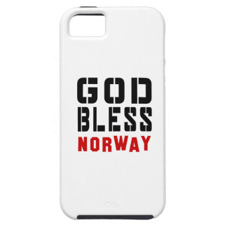 God Bless Norway iPhone 5 Case
