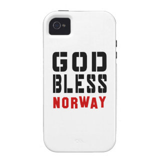 God Bless Norway iPhone 4/4S Cover