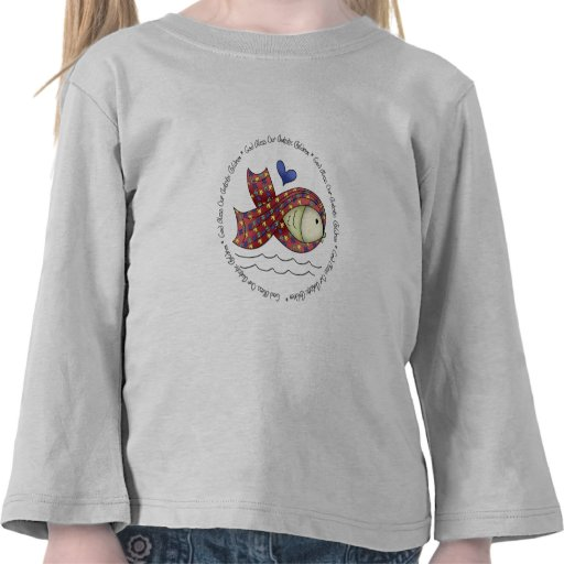 God Bless Our Autisic Children Toddler Tshirt