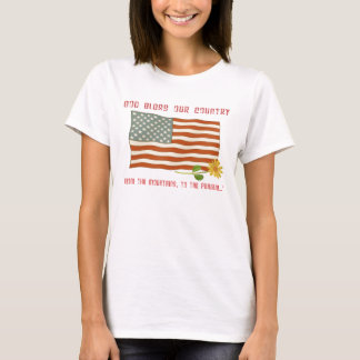 God Bless Our Country Flag Tee