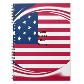 God Bless our Home Notebook