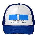 GOD BLESS OUR KOREAN WAR VETERANS TRUCKER HAT