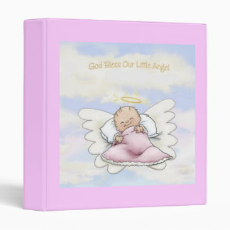 God Bless Our Little Angel - Baby Book Binder