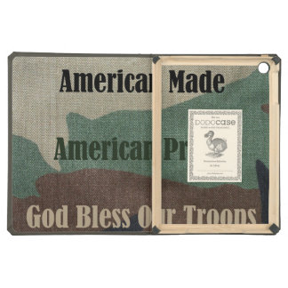 God Bless Our Troops Case For iPad Air