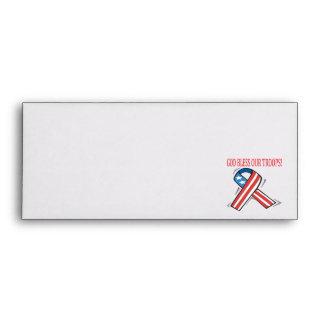God Bless Our Troops Envelope